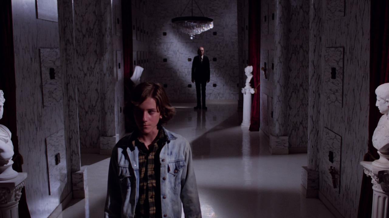<p>Don Coscarelli's cult classic sees a young A. Michael Baldwin do battle with Angus Scrimm's terrifying, reality-bending undertaker the Tall Man. (Picture credit: Anchor Bay) </p>