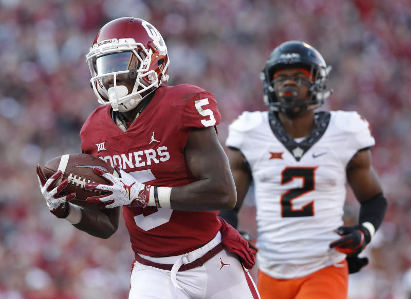 Oklahoma wide receiver Marquise Brown won t be able to work out at the NFL bae477f23