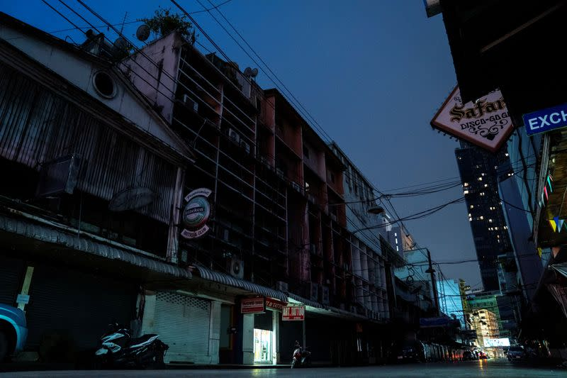COVID-19 impact on Thailand's legendary Patpong nightlife and sex trade district in Bangkok