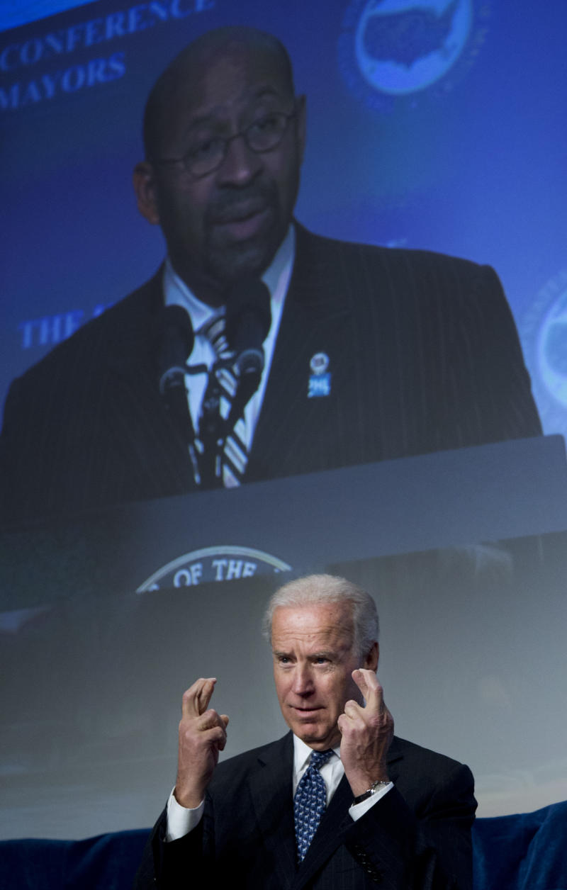 Biden: Nation needs to respond to gun violence