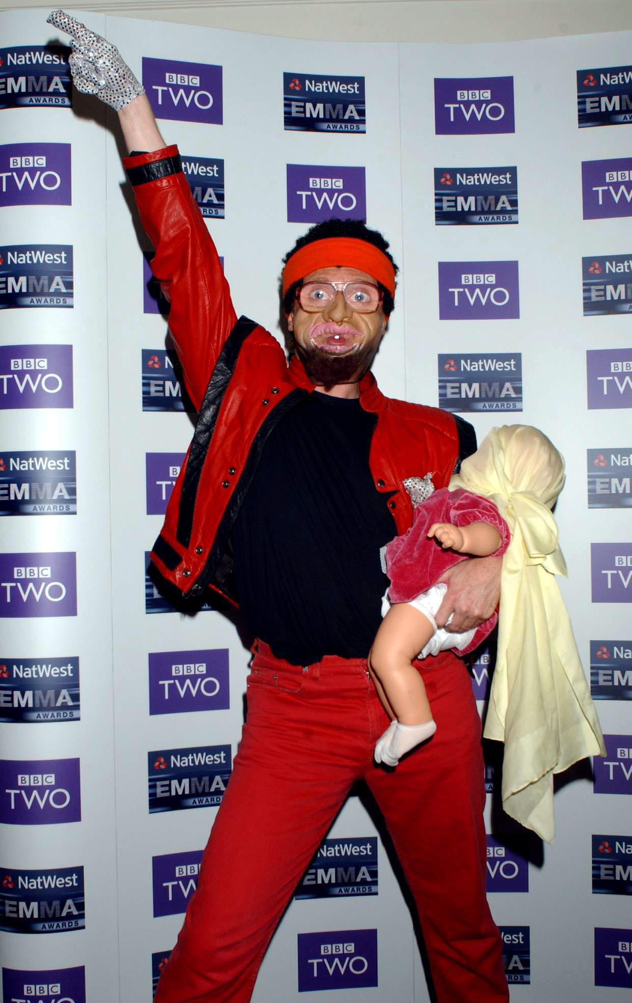 Leigh Francis impersonated black celebrities including Michael Jackson on Bo' Selecta! (Photo by Yui Mok - PA Images/PA Images via Getty Images)