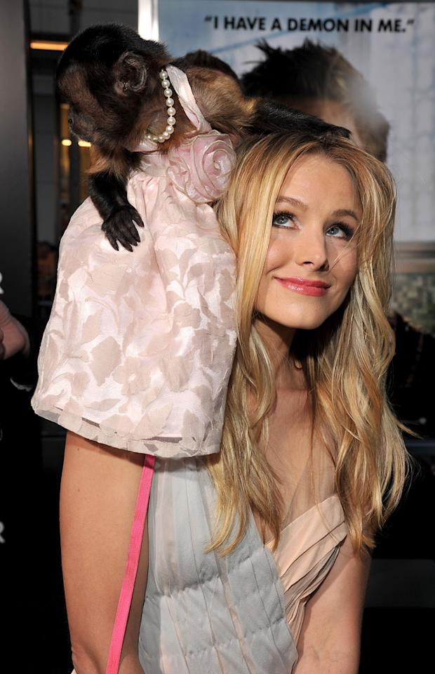 """<a href=""""http://movies.yahoo.com/movie/contributor/1808491155"""">Kristen Bell</a> attends the Los Angeles premiere of <a href=""""http://movies.yahoo.com/movie/1810187722/info"""">The Hangover Part II</a> on May 19, 2011."""
