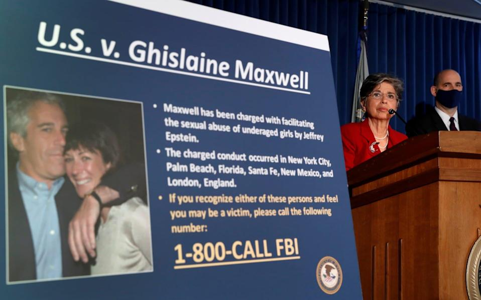 Authorities claim Maxwell had tried to escape during her arrest in New Hampshire and was found hiding in a room by FBI agents. - Reuters