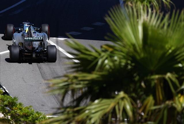 MONTE-CARLO, MONACO - MAY 23: Nico Rosberg of Germany and Mercedes GP drives during practice for the Monaco Formula One Grand Prix at the Circuit de Monaco on May 23, 2013 in Monte-Carlo, Monaco. (Photo by Clive Mason/Getty Images)