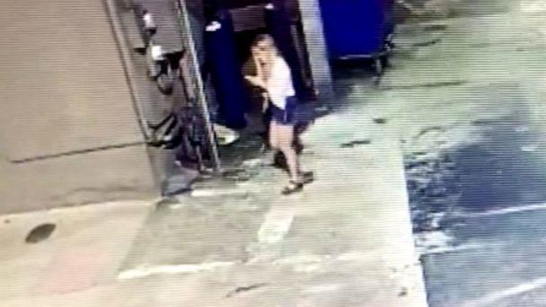 PHOTO: Surveillance video released by police shows Alexandria 'Ally' Kostial, July 19, 2019, in Oxford, Miss. (Lafayette County Sheriff's Office)
