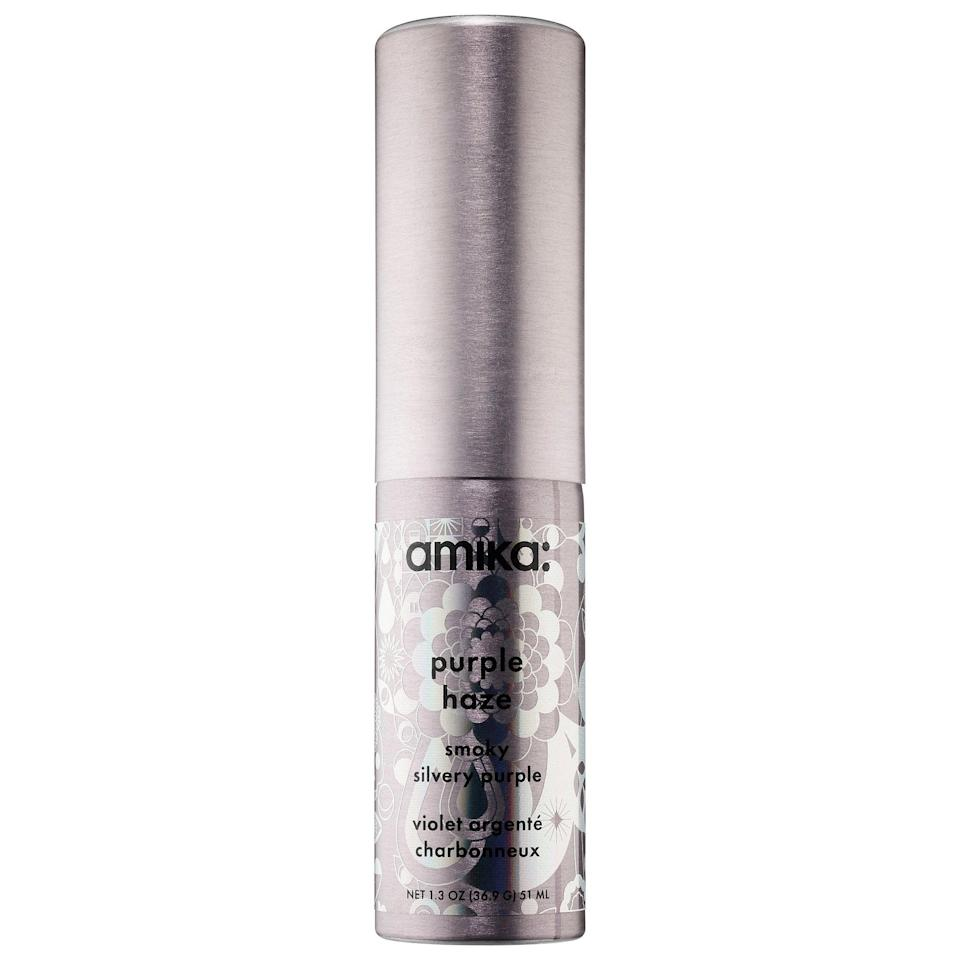 <p>With a hint of sparkle, this <span>Amika Desert Trip Temporary Hair Color Spray</span> ($18) is like hair spray with a bonus surprise packed inside. Not only will it hold styles in place, shades like rose gold and silvery purple shine on, too.</p>