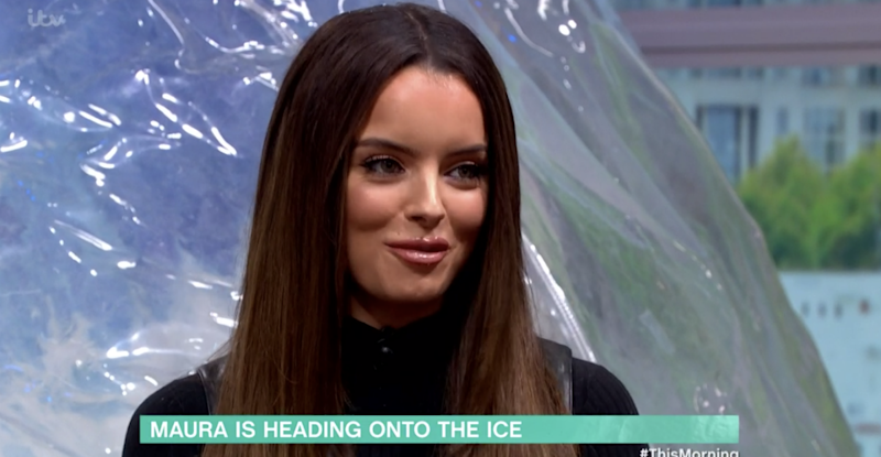 Love Island star Maura Higgins has been confirmed to appear on Dancing On Ice (Photo: ITV)