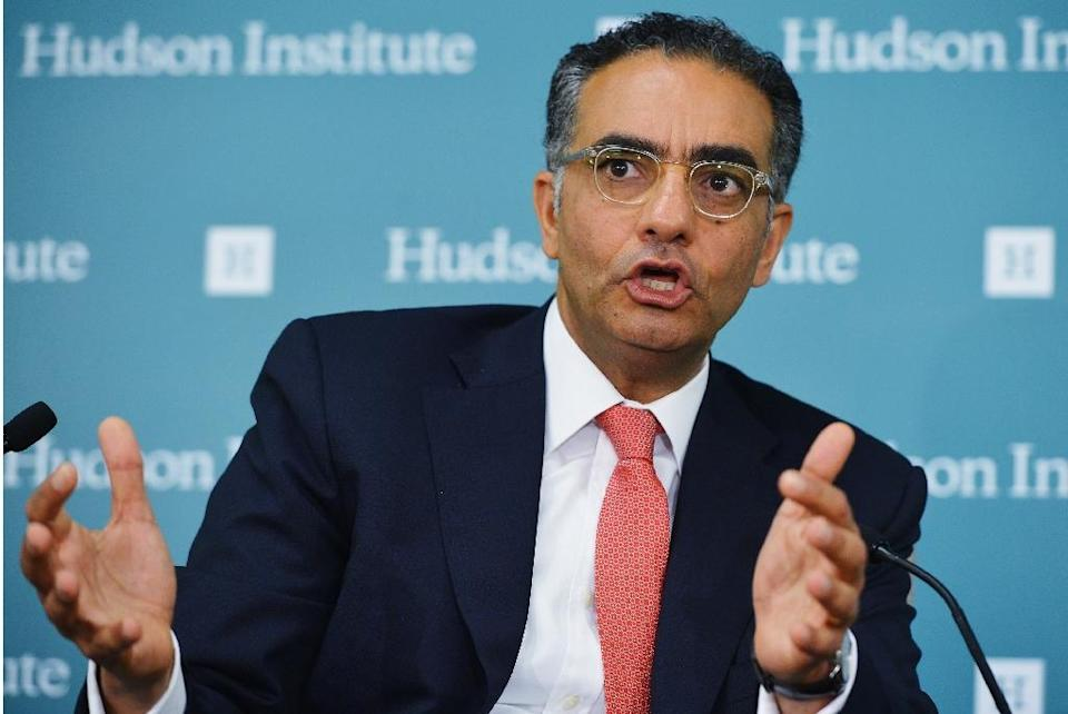 Fadi Chehade is the outgoing president and chief executive at ICANN (AFP Photo/Mandel Ngan)