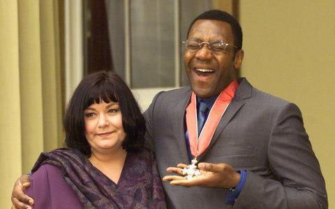 Dawn French and Lenny Henry needed security after racists tried to burn down their house