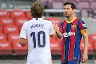 Lionel Messi and Barcelona have now won just one of their last eight home meetings with Real Madrid