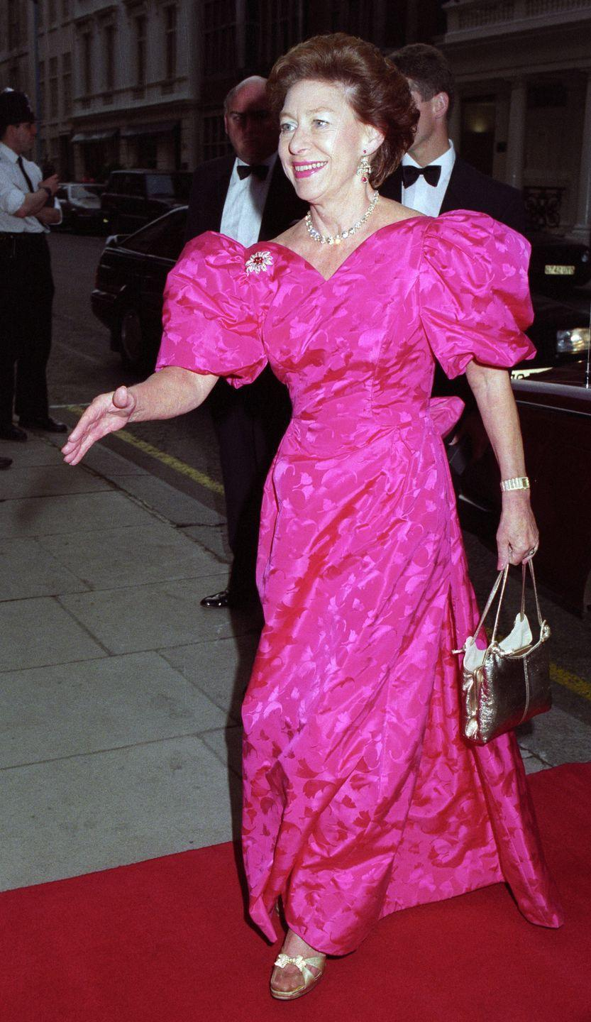 <p>Here's Princess Margaret photographed at Claridges in London in June of 1992.</p>