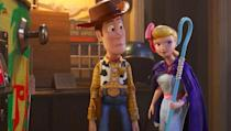 """<p>This adorable couple has been around from the very beginning of the<em> Toy Story</em> franchise. Just like Cinderella and Prince Charming, you can either DIY this couples costume or you can simply buy it at the costume store. </p><p><a class=""""link rapid-noclick-resp"""" href=""""https://www.partycity.com/adult-bo-peep-and-woody-couples-costumes---toy-story-4-G842733.html?cgid=couples-costumes-disney"""" rel=""""nofollow noopener"""" target=""""_blank"""" data-ylk=""""slk:SHOP BO PEEP COSTUME"""">SHOP BO PEEP COSTUME</a></p><p><a class=""""link rapid-noclick-resp"""" href=""""https://www.partycity.com/adult-bo-peep-and-woody-couples-costumes---toy-story-4-G842733.html?cgid=couples-costumes-disney"""" rel=""""nofollow noopener"""" target=""""_blank"""" data-ylk=""""slk:SHOP WOODY COSTUME"""">SHOP WOODY COSTUME</a> </p>"""
