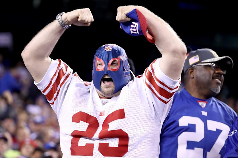 Get excited, Giants fans. (Photo by Al Bello/Getty Images)