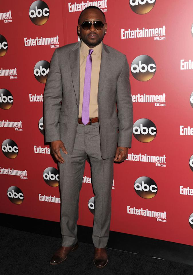 "Omar Epps (""Resurrection"") attends the Entertainment Weekly & ABC 2013 New York Upfront Party at The General on May 14, 2013 in New York City."