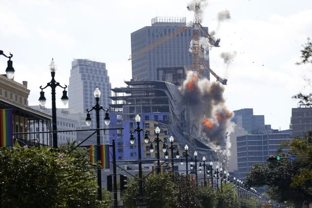 The explosions in New Orleans