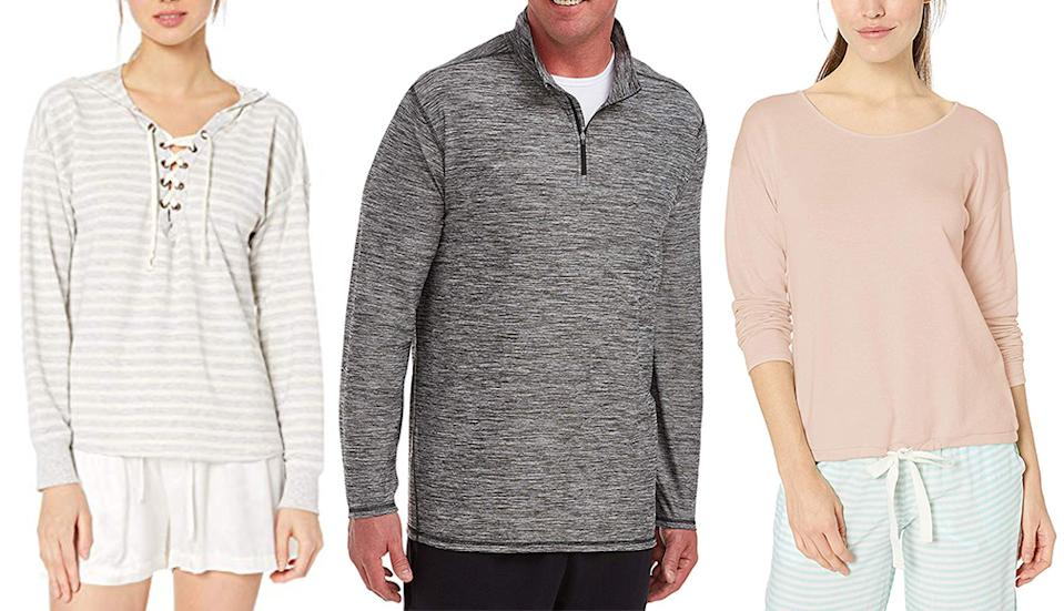 From cozy knits to comfy leggings, Amazon's fall fashion sale has all the best essentials. (Photo: Amazon)