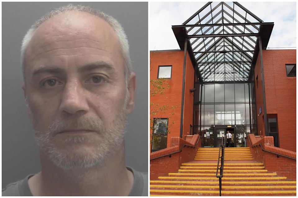Wayne Lewis was sentenced at Leicester Crown Court. (Leicestershire Police/PA)