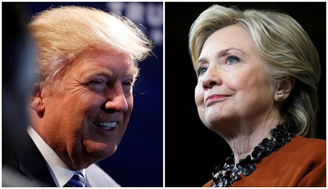 Hillary Clinton and Donald Trump haven't said much about Daylight Saving Time. (Source: Reuters)
