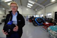 Saietta startup tests an electric vehicle platform with prototype axial flux electric motors, in Upper Heyford