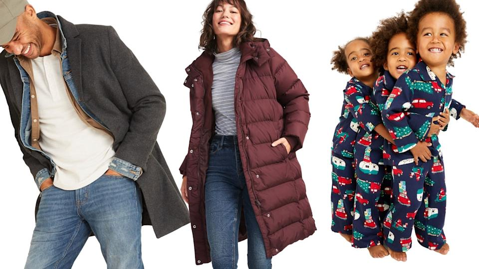 Old Navy is offerings savings of 50 per cent on everything ahead of Black Friday.
