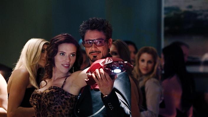 The character of Black Widow is introduced in Iron Man 2.