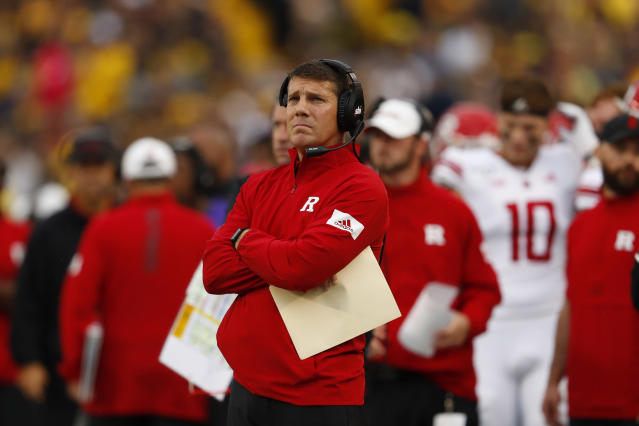 Chris Ash was on Ohio State's staff in 2014 with Texas coach Tom Herman. (AP Photo/Paul Sancya)