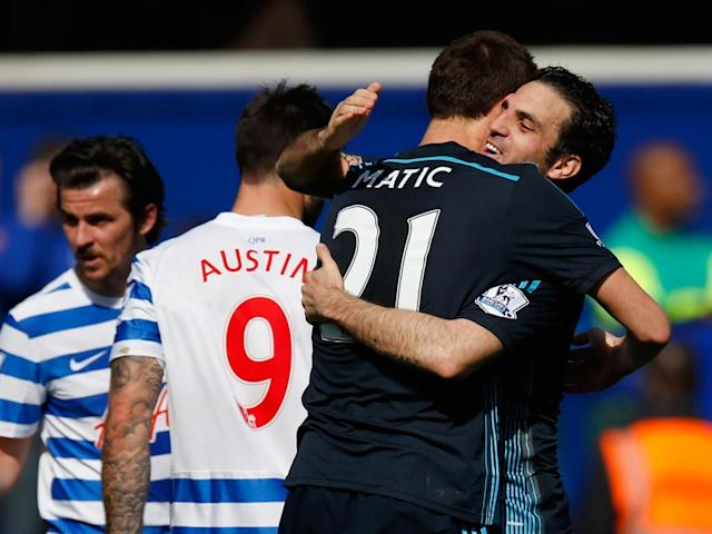 Matic and Fabregas have alternated in Chelsea's midfield (Getty)