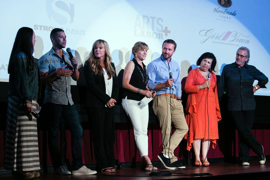 "The cast of ""My So-Called Life"" attends a screening and Q&A at the ATX Television Festival on Friday, June 7, 2013 in Austin, Texas."