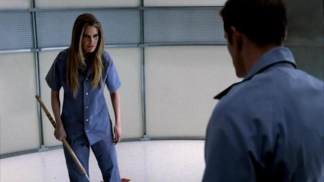"Kristin Bauer von Straten in the ""True Blood"" Season 6 episode, ""Don't You Feel Me."""