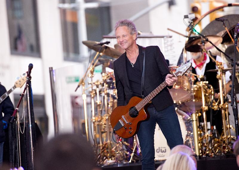 """Lindsey Buckingham of Fleetwood Mac announces a new album entitled """"Lindsey Buckingham/Christine McVie,"""" to be released in June"""