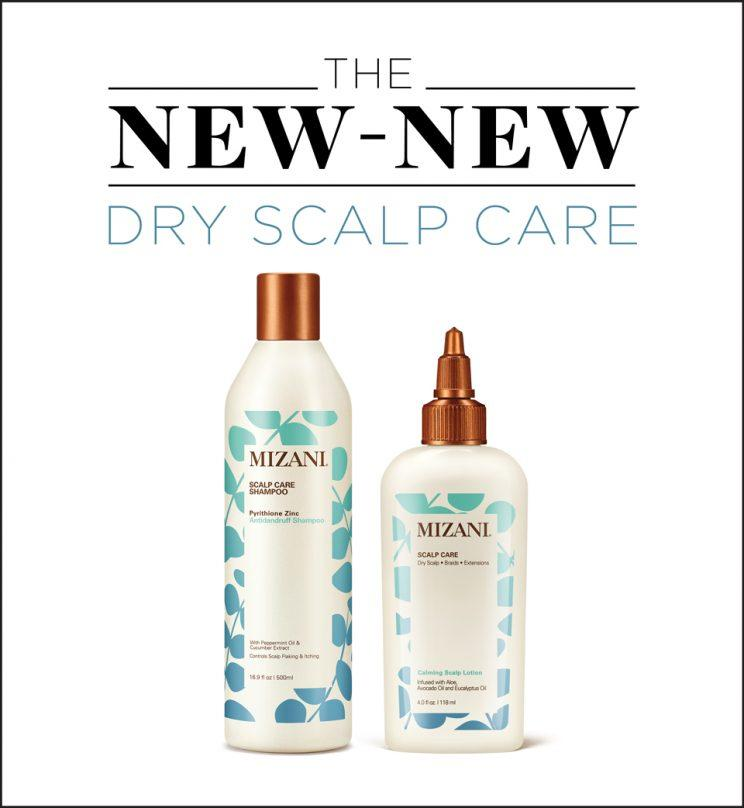 The Mizani Scalp Care line is here to soothe your dry, itchy scalp. (Photo: Mizani)