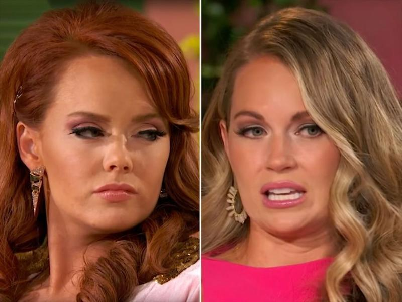Kathryn Dennis (left) and Cameran Eubanks