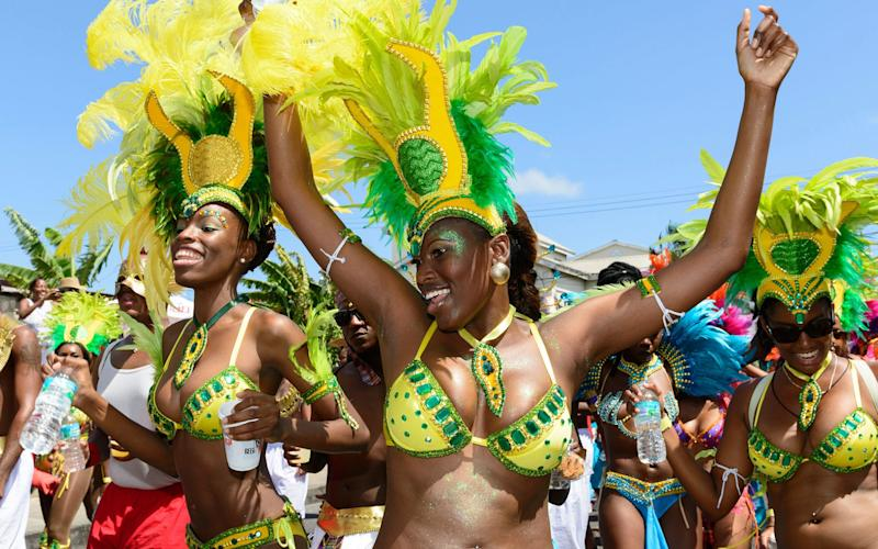 Cropover, Barbados' full-on carnival, is a big annual event culminating in early August - isitsharp
