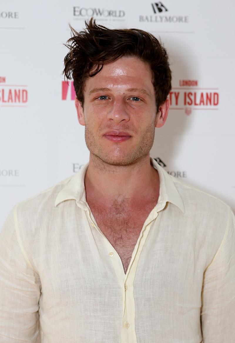 LONDON, ENGLAND - JULY 01: James Norton attends as Eco World Ballymore welcomes English National Ballet to its new home on London City Island on July 1, 2015 in London, United Kingdom. (Photo by David M. Benett/Dave Benett/Getty Images for Eco World Ballymore)