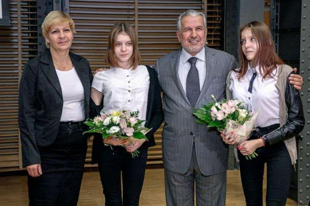 PHOTO: Dr. Abdullah al Rabeeah with Polish twins he separated in Warsaw in 2019. (Dr. Abdullah al Rabeeah)
