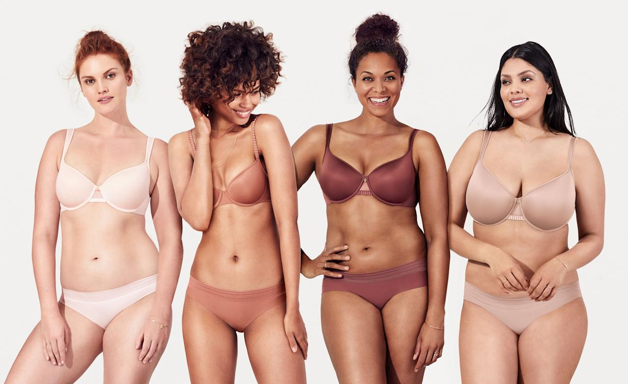 """<p>Going braless can feel super freeing (and is somewhat trendy these days) but for many people out there it's not really an option. Some women find the look of lace, feel of satin, or effect of a push-up or padding comforting, while others flat out need a <a href=""""https://www.elle.com/fashion/personal-style/a23119622/bra-styles-for-32dd/"""" target=""""_blank"""">bra for daily support</a>. Sure, ripping off your bra at the end of the day is one of the first things you do when you get home, but that doesn't mean you don't need an arsenal of styles that will get you <a href=""""https://www.elle.com/fashion/a41440/best-t-shirt-bra/"""" target=""""_blank"""">through your 9 to 5</a>. There are loads of bras out there that are plenty comfortable, functional and flattering, and oftentimes, just plain pretty to look at (self-care, ladies). Read on for a guide on the 10 types of bras every woman should have in her lingerie drawer then shop <a href=""""https://www.elle.com/fashion/a25804778/best-direct-to-consumer-bra-brands/"""" target=""""_blank"""">our top picks</a>.</p>"""