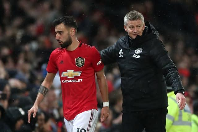 Manchester United's Bruno Fernandes enjoyed a great start to life at Old Trafford after joining from Sporting Lisbon (Nick Potts/PA)