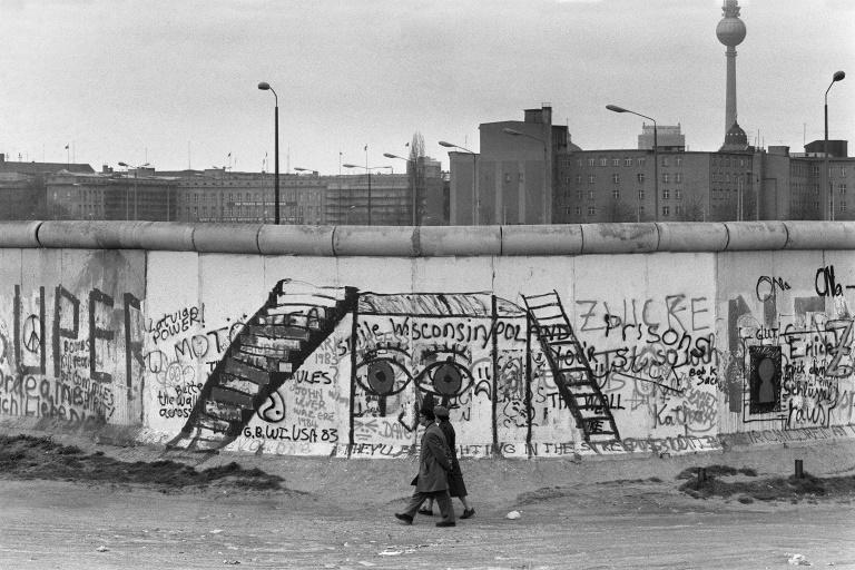 The Berlin Wall separated communist East Germany from the West (AFP Photo/JOEL ROBINE)