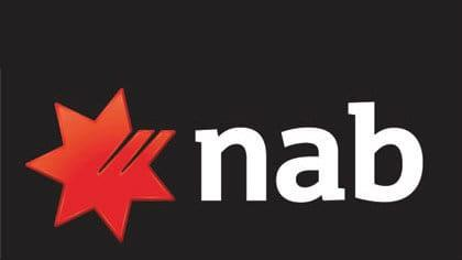 NAB bank share price