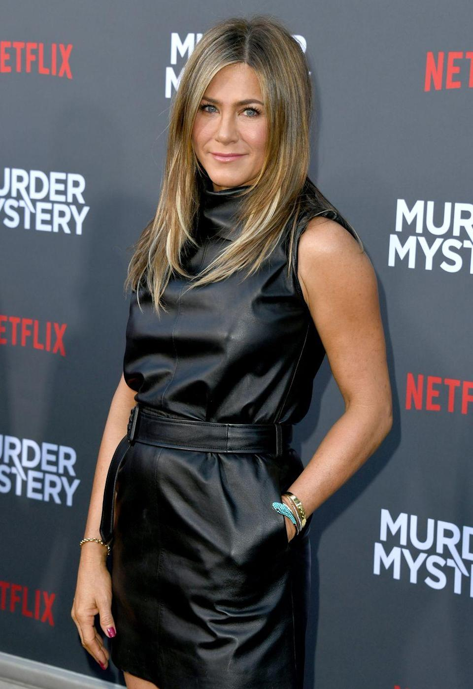 <p>Jennifer's success from <em>Friends</em> launched her into megastardom. She went on to star in hit movies like <em>Along Came Polly, </em><em>Marley & Me, </em>and <em>Horrible Bosses.</em> She also had very public marriages to Brad Pitt and Justin Theroux. Today, the A-lister is one of Hollywood's highest paid actresses and recently starred in and produced Apple's upcoming show, <em>The Morning Show. </em></p>