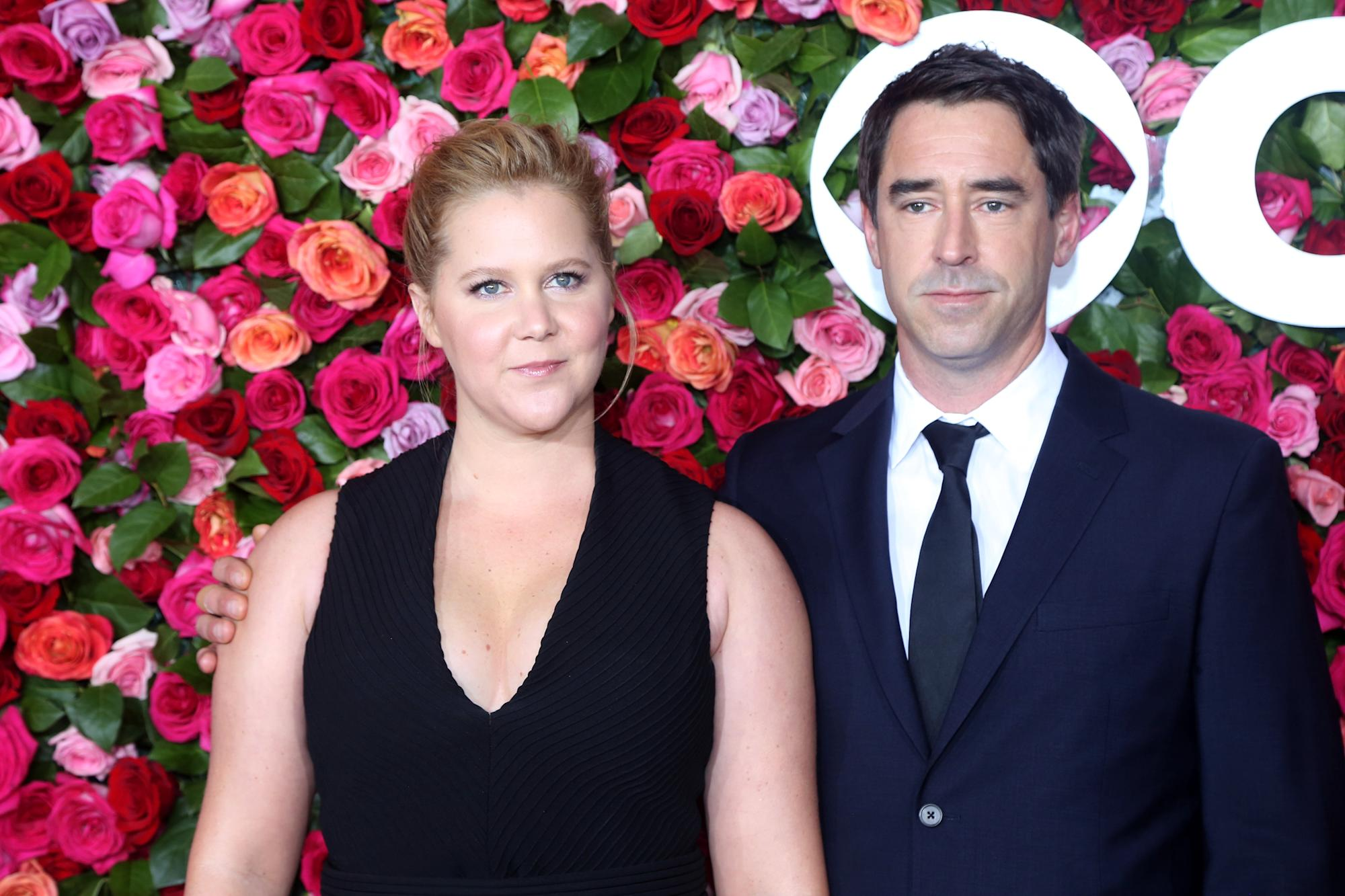 Amy Schumer gets 'emotional' about husband Chris Fischer on their son's 2nd birthday
