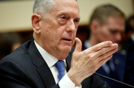 FILE PHOTO: U.S. Defense Secretary Jim Mattis testifies to the House Armed Services Committee on