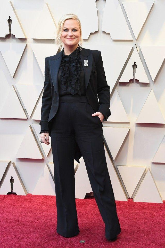 Amy Poehler at the 91st Annual Academy Awards
