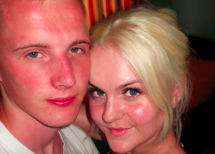 Adam Vickers and Laura O'Callaghan had been dating for 10 years (SWNS)
