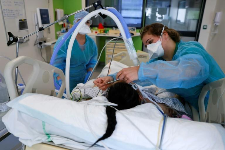The Delafontaine in Saint-Denis, just outside Paris, has been forced to add more beds to intensive care