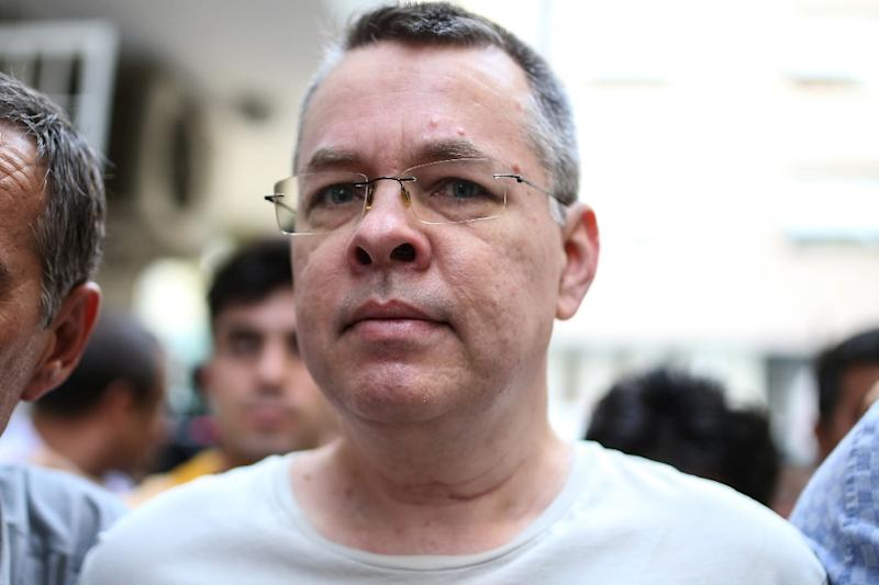 US pastor Andrew Brunson is at the centre of a row between Washington and Ankara that has caused a Turkish currency crash and and global economic jitters