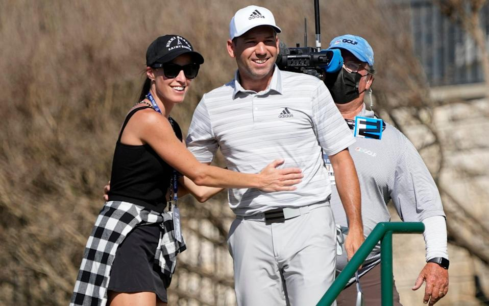 Sergio Garcia knocks out Lee Westwood with sudden death hole-in-one at WGC Match Play - AP
