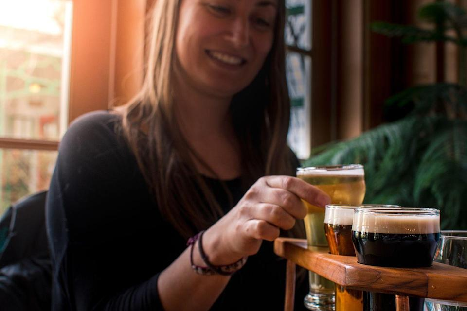 <p>Taprooms and breweries feel even more welcoming in the winter, when the comforting smell of hops, yeast, and malt beckon visitors inside. Grab a designated driver and go taste some beer — you may find a new go-to. </p>