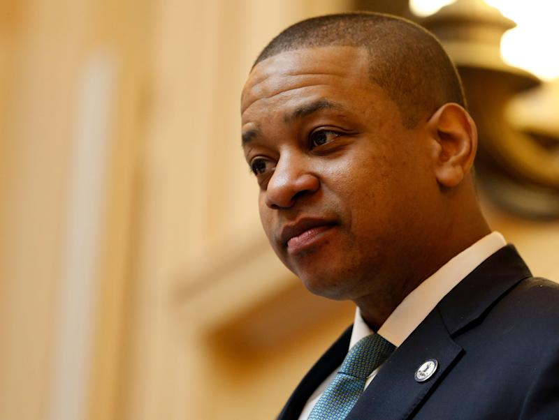 Virginia Lt. Gov. Justin Fairfax, seen presiding over the state Senate in Richmond on Monday, faces calls to resign and threats of impeachment. (Photo: Steve Helber/ASSOCIATED PRESS)