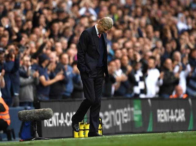 Wenger's side were comprehensively outplayed (Getty)